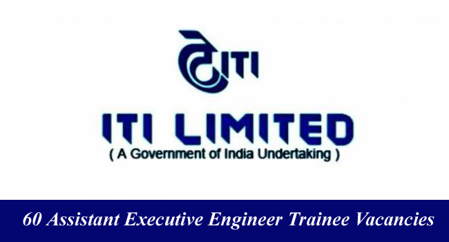 Assistant Executive Engineer Trainee post vacant in ITI